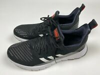 Adidas Asweego Men's Running Shoes Size 10 Black White Pre-Owned Very Good