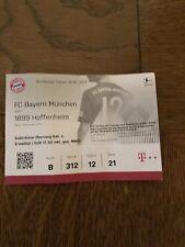 Sammlerticket FC Bayern München - TSG Hoffenheim 24.08.2018