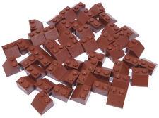 LEGO - 50 Dachsteine 45 Grad 2x2 braun / Reddish Brown Slope / 3039 NEUWARE