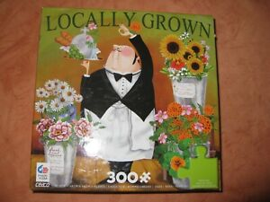 "CEACO 300 large piece puzzle   titled "" Locally Grown"""