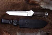 Russisches Messer, Jagdmesser A&R Zlatoust -- Sherkhan Leder