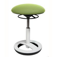 Büro Hocker Drehstuhl Topstar Sitness Bob grün weiss 3-D Stoff B-Ware