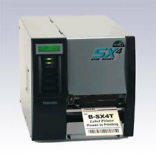 TOSHIBA TEC B-SX4T Thermal Barcode / Label Printer RJ-45 Ethernet