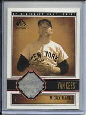 2002 UPPER DECK SP LEGENDARY CUTS MICKEY MANTLE JERSEY NEW YORK YANKEES