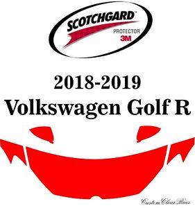 3M Scotchgard Paint Protection Film Clear Pre-Cut 2018 2019 Volkswagen Golf R