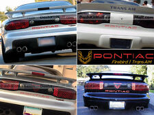 RED  PONTIAC TRANS AM 93 -1998 1999 2000 2001 02 REAR BUMPER LETTERS NOT DECALS