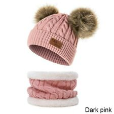 JANGANNSA Winter Baby Girls Beanie Infant Toddler Warm Hat for Boys Knitted Baby Beanies with Pompom