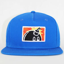 The Hundreds Snapback Patch Adam Snap Blue Flat Cap