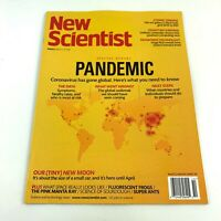 NEW SCIENTIST MAGAZINE PANDEMIC March 2020