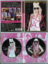 Secret world + One sequin at a time 2 dvd Japan Lady Gaga