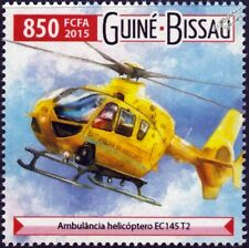 EUROCOPTER EC145 T2 East Anglian Air Ambulance Helicopter Aircraft Stamp (2015)