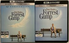 Forrest Gump 25Th Anniversary Ed 4K Ultra Hd Blu Ray 3 Disc + Rare Oop Slipcover