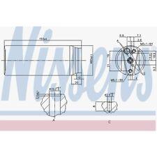 Nissens Trockner, Klimaanlage Lexus, Toyota 95063
