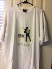 Michael Jackson King Of Pop Gear Seven Collection White T-shirt Size 3Xl