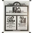 "Vintage Boz Scaggs Leo Kottke Doobie REO Pacific Presentations Poster 20 X 17"""