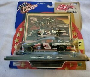 WINNERS CIRCLE 1/43 SCALE DALE EARNHARDT SAM BASS COLLECTION ART PRINT SERIES