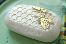 Silicone mold HONEY BEE QUEEN SOAP SILICONE MOULD Free P&P
