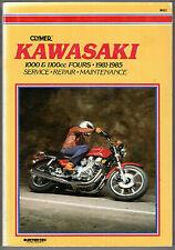 Clymer Manual Kawasaki 1000 and 1100cc Fours, 1981-1985M451