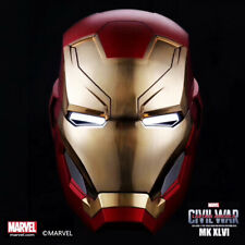 Marvel The Iron Man MK46 Costume Wearable Helmet 1:1 Collectibles Figure New