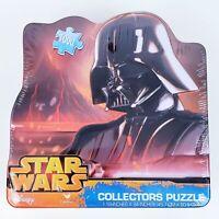 """Disney Star Wars Darth Vader Puzzle 1000 Pieces Collectors Tin 18"""" X 24"""" Lucasfi"""
