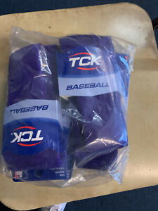 TCK , Baseball,  Knee socks Purple- Mens Med- BAG OF 6 PAIRS