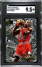 MICHAEL JORDAN 1995-96 FLEER METAL NUTS & BOLTS #212 NBA CARD GRADED SGC 9.5 MT+