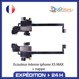 Écouteur interne IPHONE XS MAX + Micro + CAPTEUR LUMIÈRE PROXIMITÉ HAUT PARLEUR