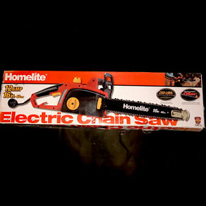 Homelite 16 in. 12 Amp Electric Chainsaw With Original Box
