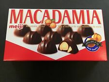 New Meiji Madadamia Chocolates King of Nuts Chocolate 9 Pieces MADE IN JAPAN
