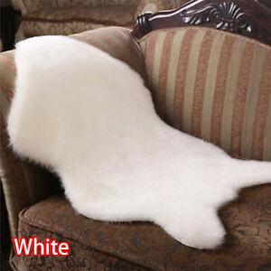 Faux Fur Sheepskin Rug Soft Floor Mat Living Room Bedroom Shaggy Carpet Rugs
