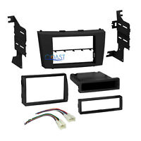 Car Stereo Single 2 Din Stereo Dash Kit Wire Harness for 2007-2011 Toyota Camry