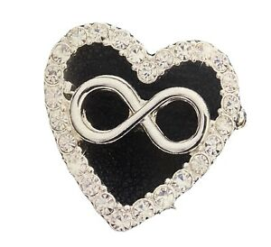 Avon Domestic Violence Crystal Pin - Charity - End Violence Against Women