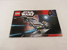 LEGO Star Wars General Grievious 7656 Instructions Only Great Gift! S1 1.83