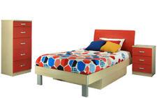 EOFY SALE MONTANA KING SINGLE Storage Bed BS Tall Boy BEDROOM SET 4myhomecomau