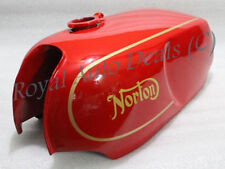 NORTON COMMANDO ROADSTER RED PAINTED WITH LOGO PETROL TANK