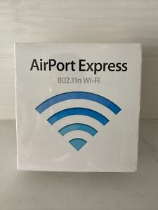 AirPort Express 802.11n Router WI-FI  Model #A1264 Designed By Apple Mac+PC NEW!