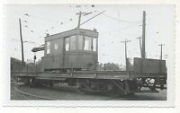 WEST PENN RAILWAYS Trolley Construction Car Crane PA Pennsylvania Photo