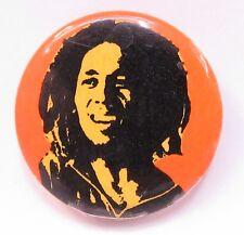"Bob Marley 1.25"" celluloid Made In Canada pinback button Reggae"
