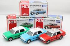 Takara Tomica Tomy TOYOTA CROWN Comfort Hong Kong HK Taxi 3X SET Diecast Toy Car