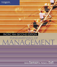 Management: Pacific Rim by Samson/Daft (Paperback, 2005)