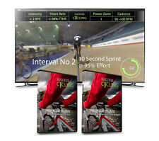 2 x Turbo Training Cycling DVDs Base Building Success 1 & 2