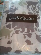 "Dwell Studio ""Woodland Tumble"" Fitted Crib/Toddler bed Sheet Finest100% Cotton"
