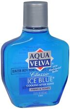 Aqua Velva Classic Ice Blue Cooling After Shave 3.50 oz