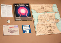 Wishbringer - with stone & still sealed envelope (Infocom, 1985)  - Atari ST