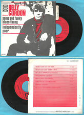 """FRENCH 7"""" KELLY GORDON Some old funky blues thang EMI CAPITOL 2C 006-80171 M"""