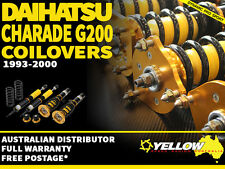 YELLOW-SPEED RACING COILOVERS Daihatsu Charade G200 93-00  yellowspeed coil over