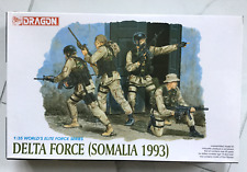 DRAGON ELITE FORCES SERIES1 35 U.S. DELTA FORCE SOMALIA 1993 4 FIGURES 3022  F  b7ad844f5