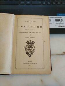 MANUALE DI Preghiere Arciconfraternita di N. Signora del S. Cuore Roma 1912
