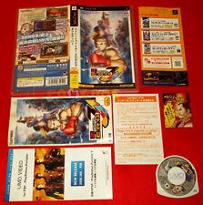 STREET FIGHTER ZERO 3 Psp Versione Giapponese 1ª Edizione ○ COMPLETO - FM