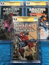 Amazing Fantasy #16-18 - Marvel - CGC SS 9.6 9.2 9.8  - Signed by Kurt Busiek